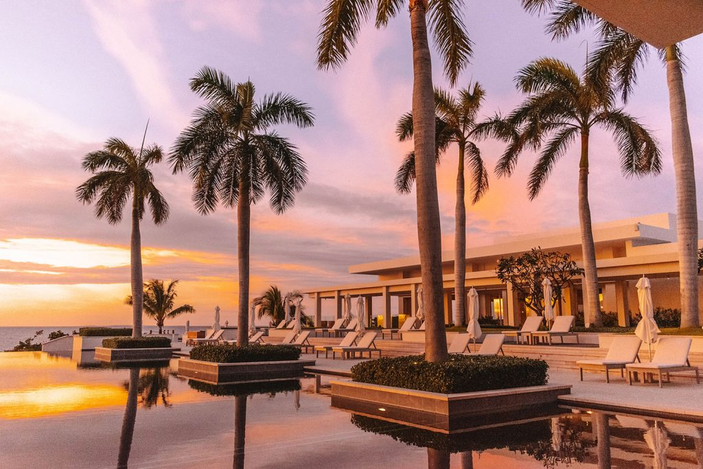 An amazing sunset at Four Seasons Anguilla
