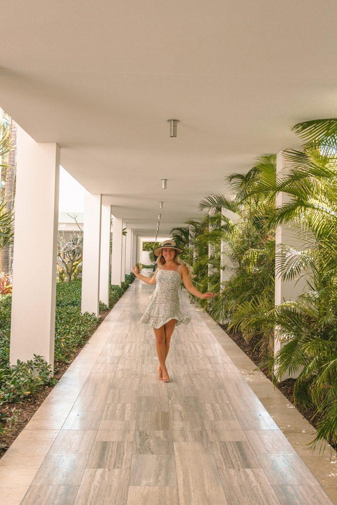 A woman at Four Seasons Anguilla