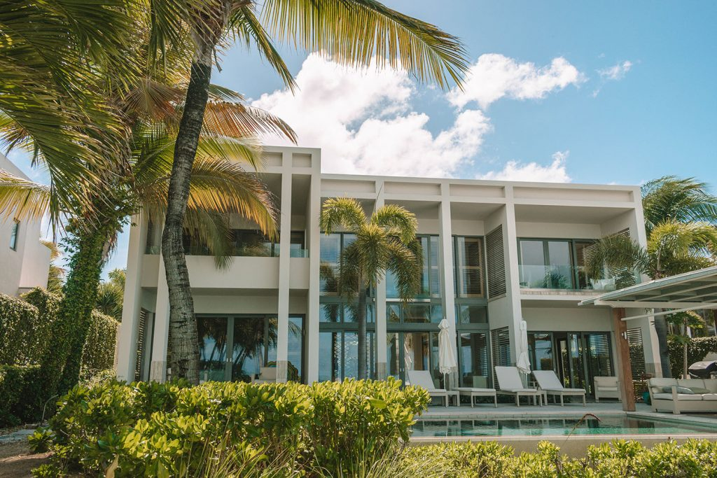 A luxury villa at Four Seasons Anguilla beach resort