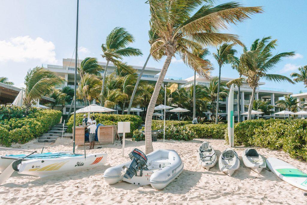 Water sport activities at the best luxury beach resort in Anguilla