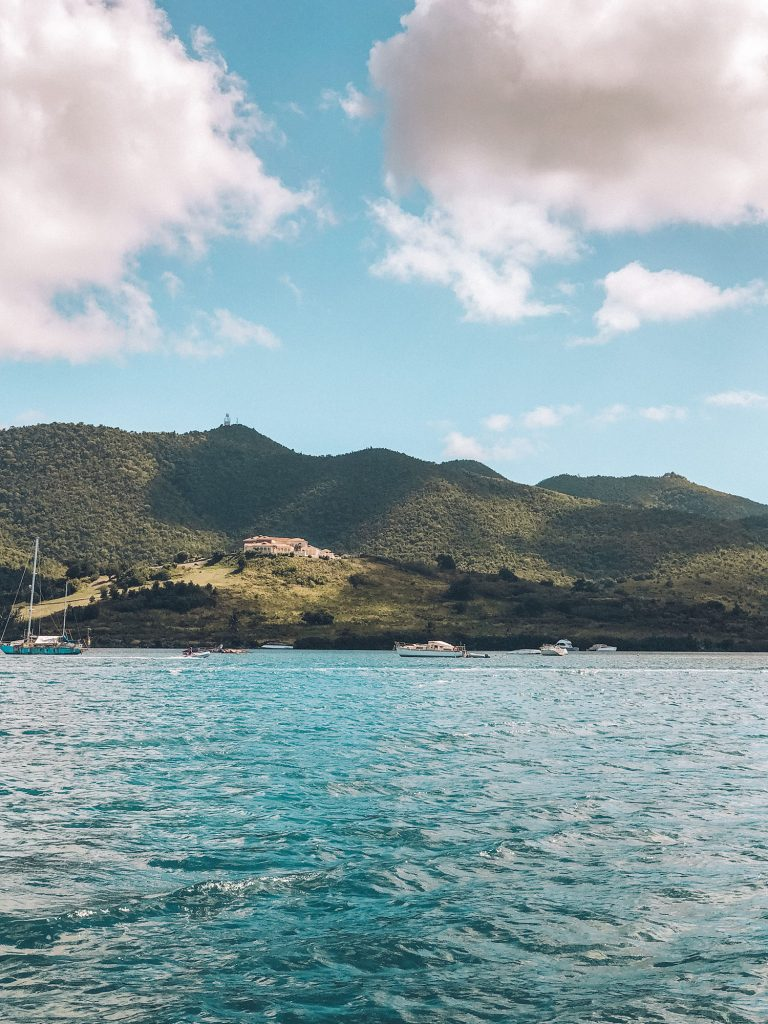 The ferry ride from St. Maarten to Anguilla