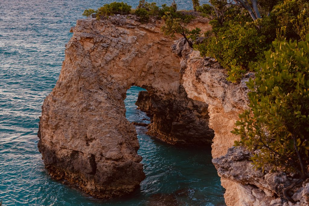 West End Arch in Anguilla