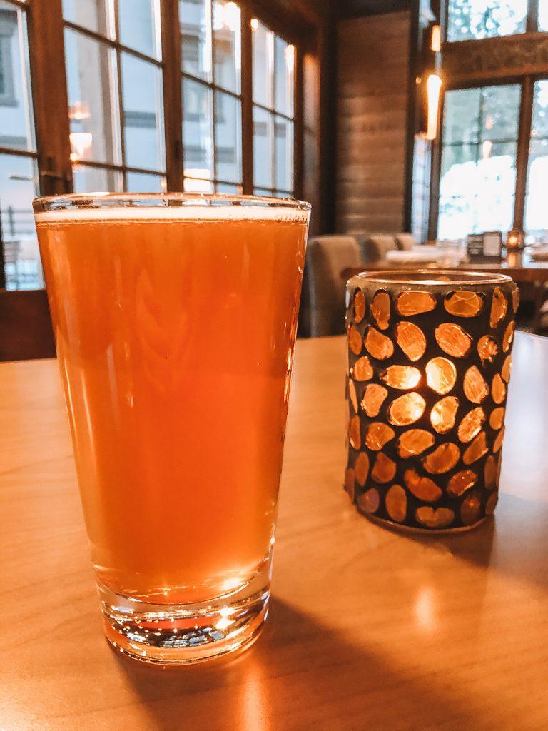 An apres ski craft beer