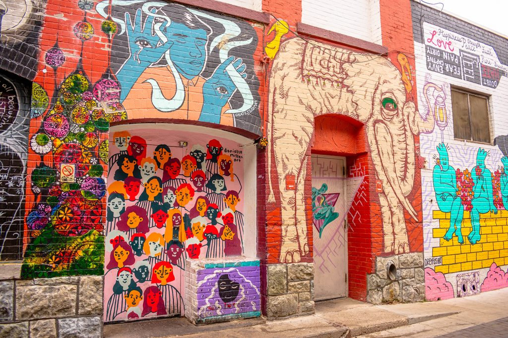 Freak Alley artwork to admire with one day in Boise, Idaho