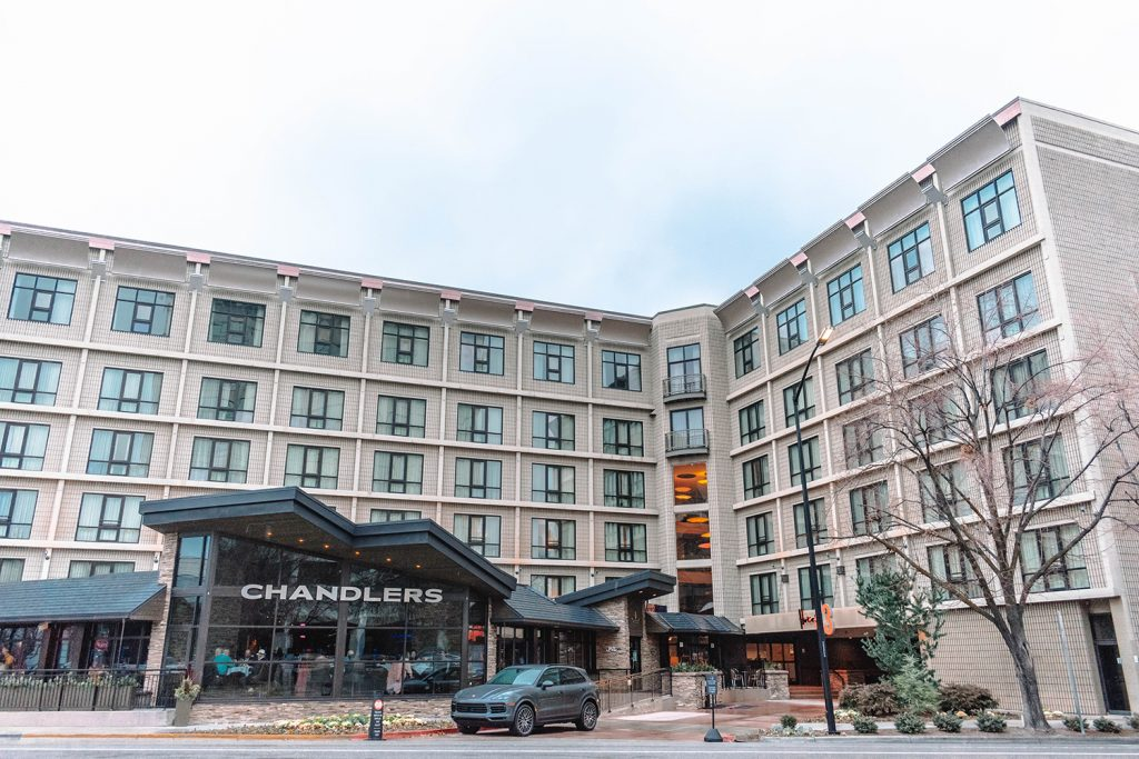 Staying at Hotel 43 boutique hotel with one day in Boise, Idaho