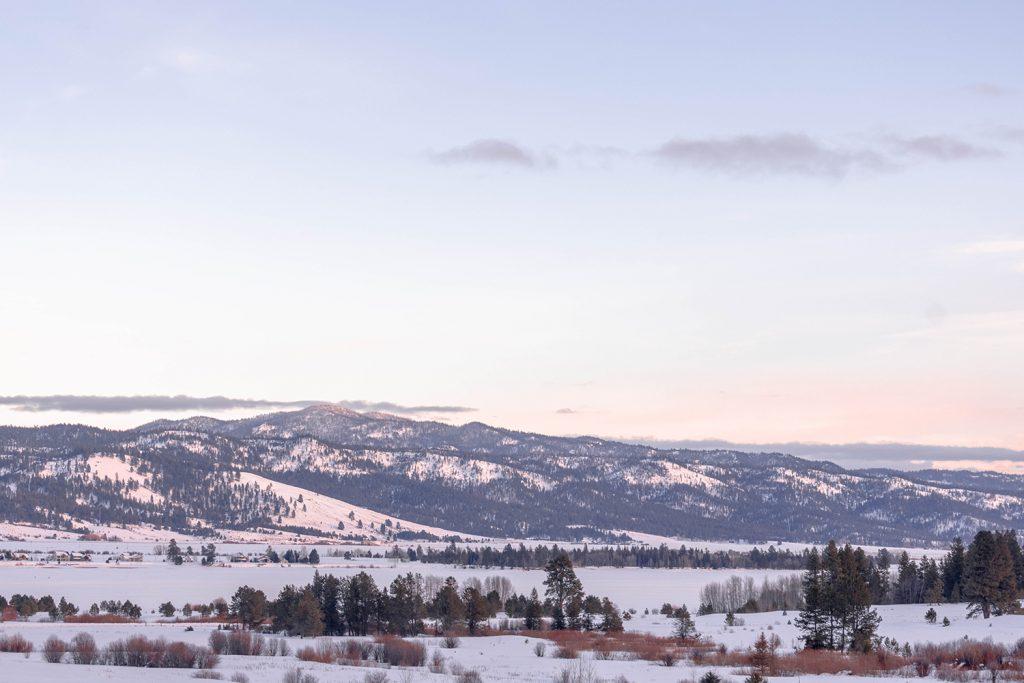 The Idaho Mountains at Tamarack Resort in Idaho