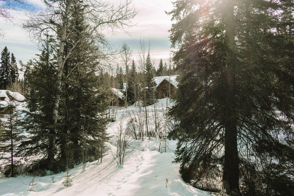 A winter wonderland in Idaho