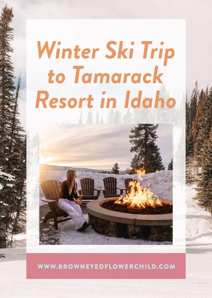 Winter Ski Trip to Tamarack Resort in Idaho
