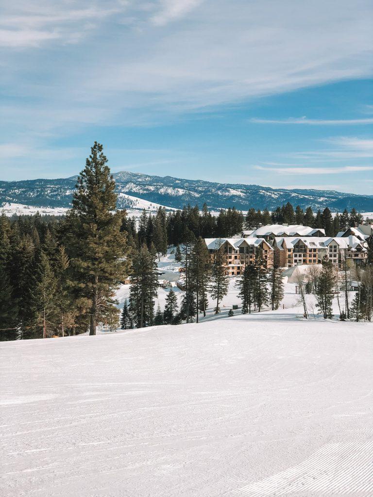Tamarack ski Resort in Idaho