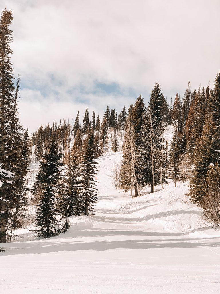 The mountain Idaho ski mountains