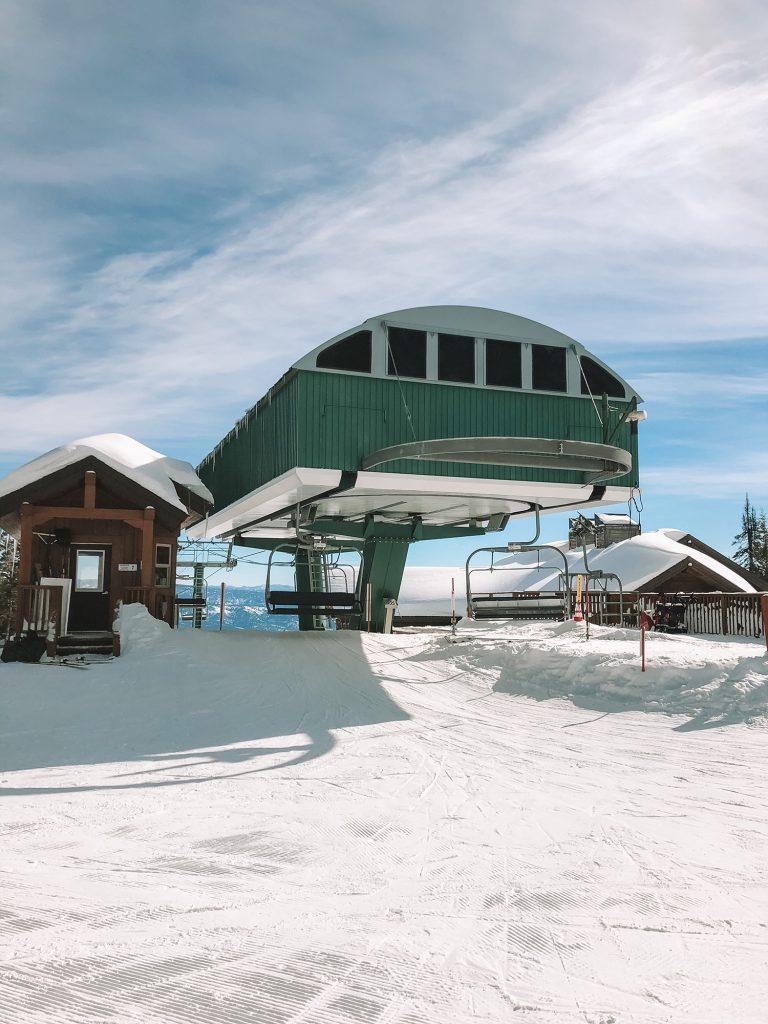 The Tamarack Express ski lift