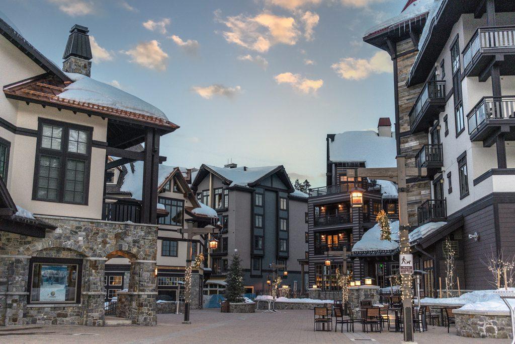 The Village at Tamarack Resort in Idaho
