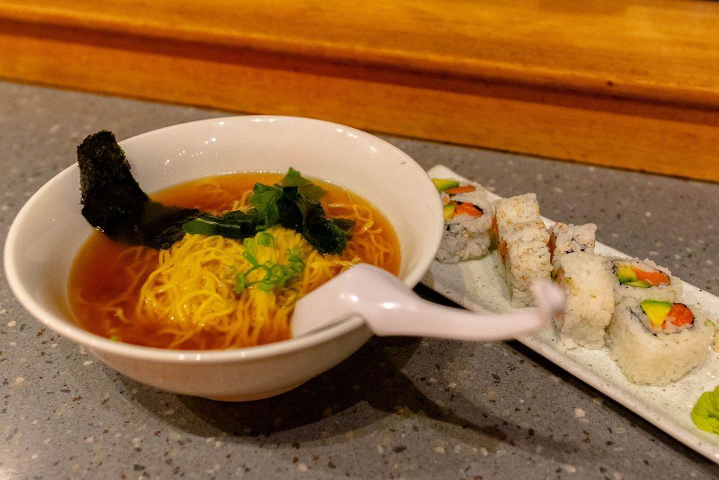 Ramen and sushi from Chiba-Ken in Waikiki