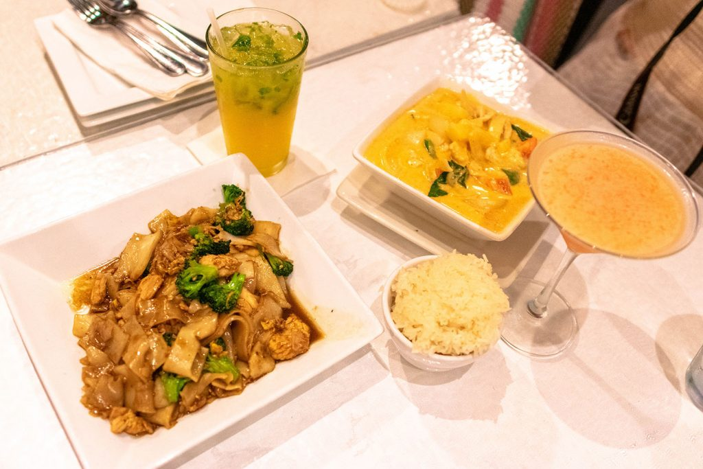 Dinner at Maile's Thai at Ward - one of the top things to do on Oahu