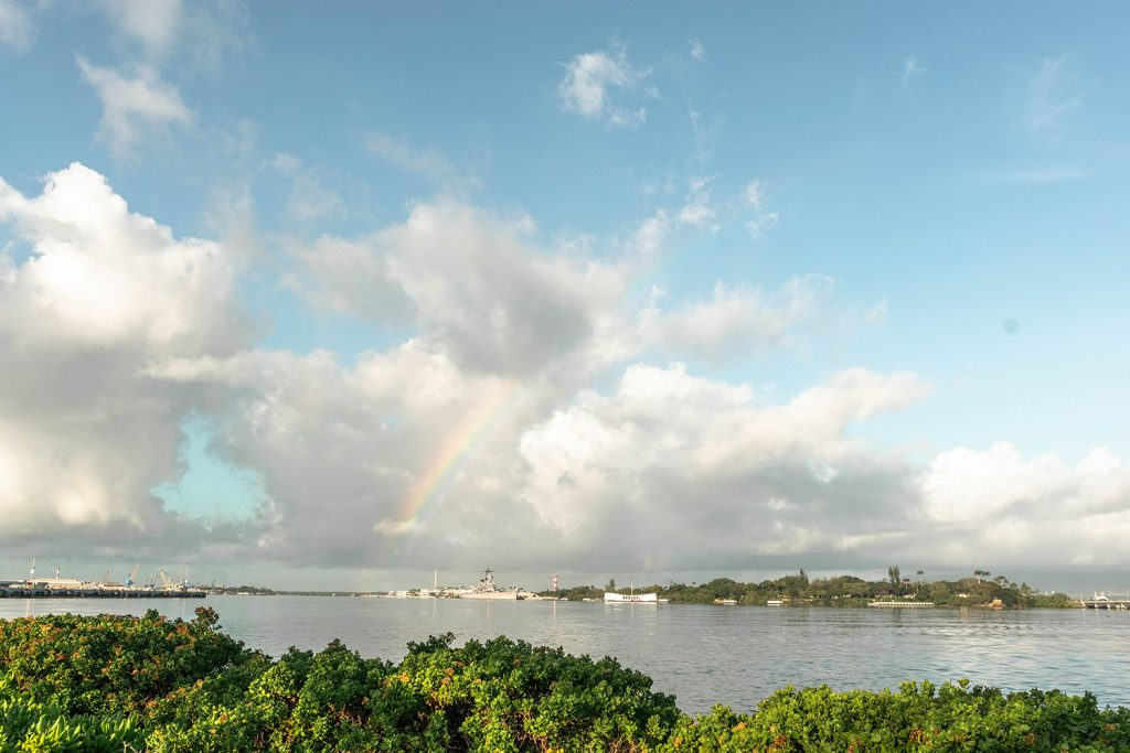 Pearl Harbor on Oahu