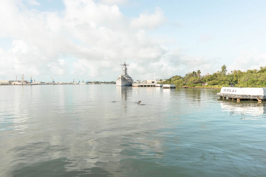 Pearl Harbor tour on Oahu