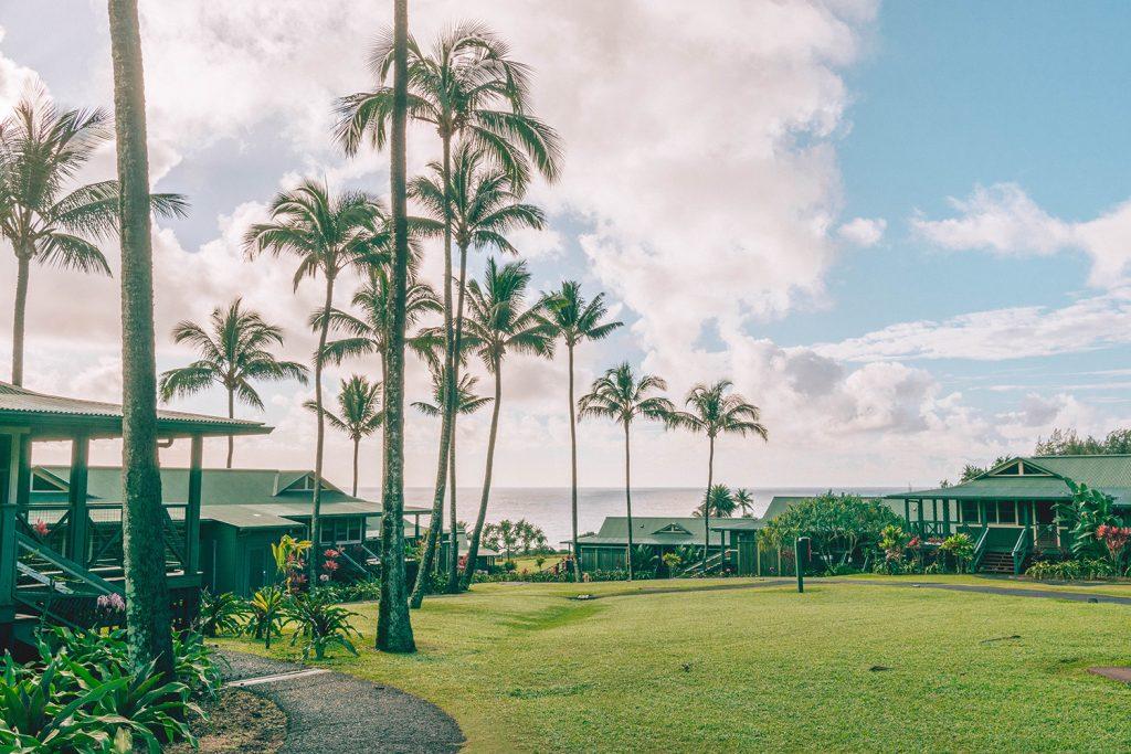 Hana Maui Resort property off of Road to Hana