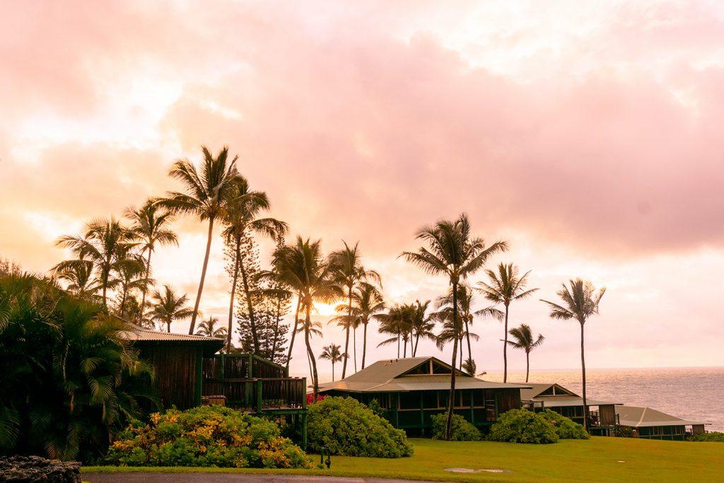 Sunrise at Hana Maui Resort