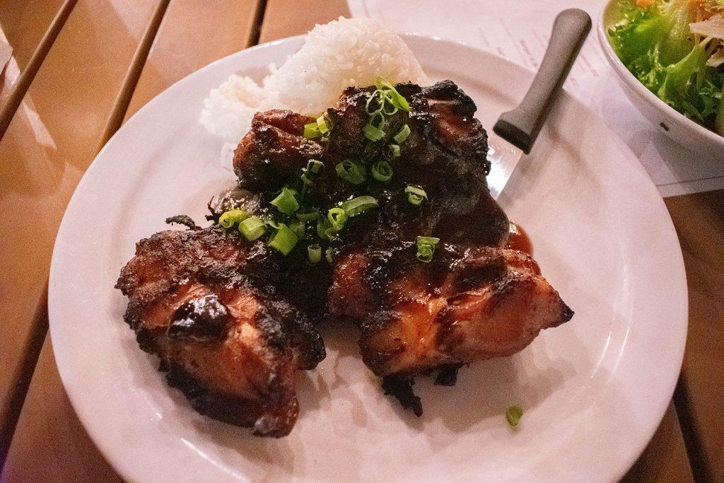 Chicken teriyaki from Hana Ranch Restaurant