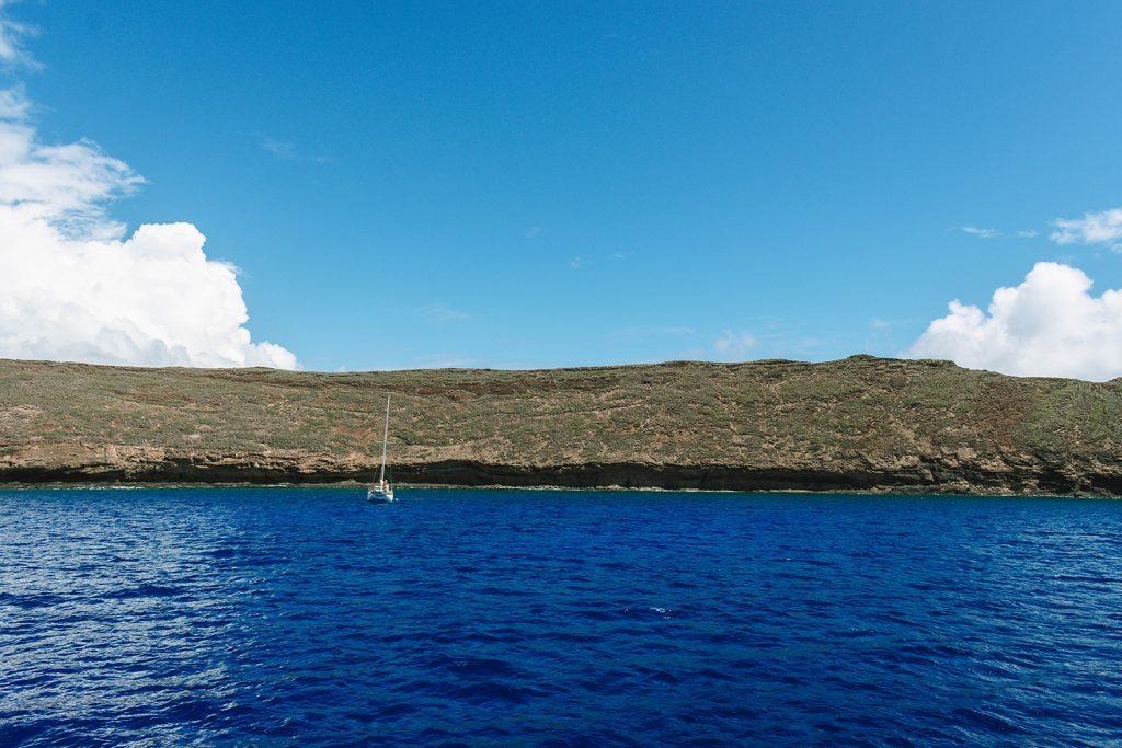 Molokini Crater in Maui