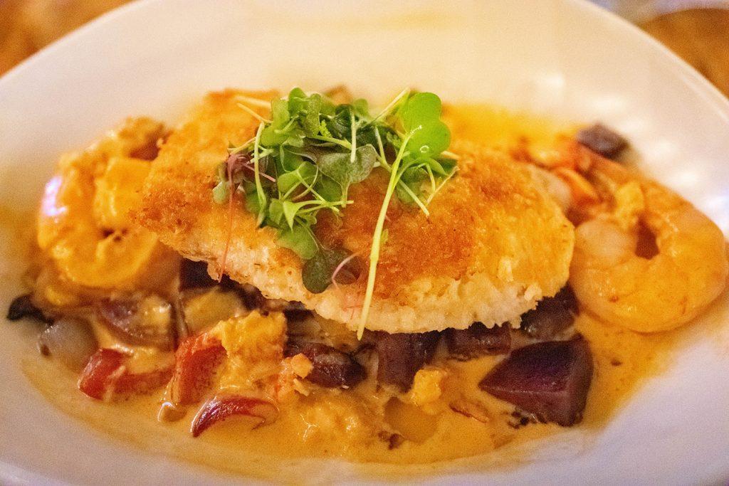 A seafood dinner at Sea House Restaurant at Napili Kai Beach Resort
