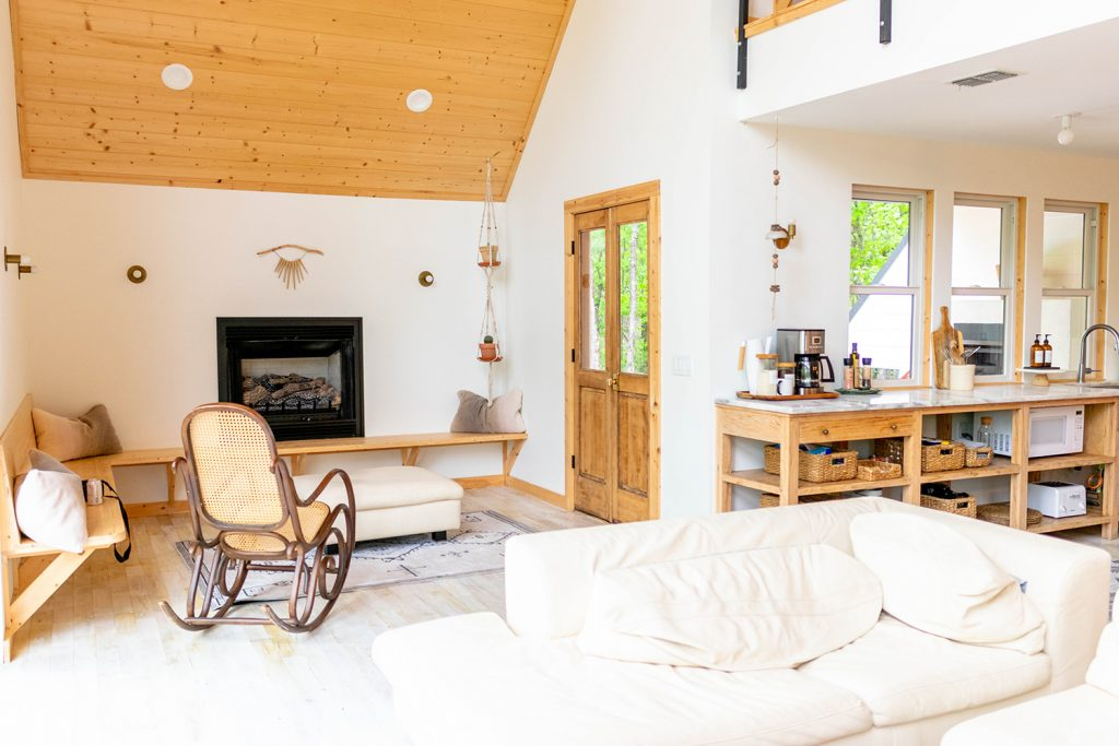 Inside The Cabin Collection's A-frame home in Broken Bow