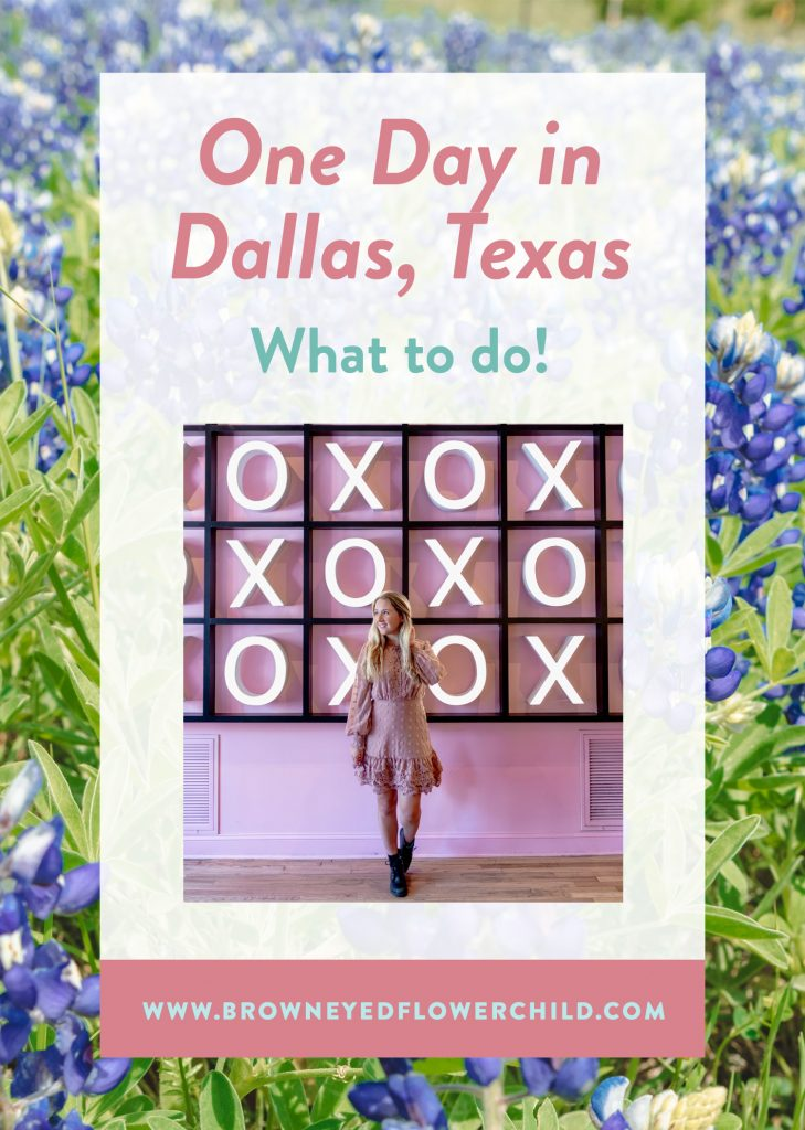 One day in Dallas, Texas - what to do
