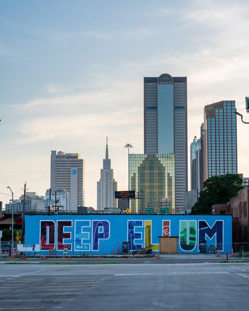 Deep Ellum mural in Dallas, Texas