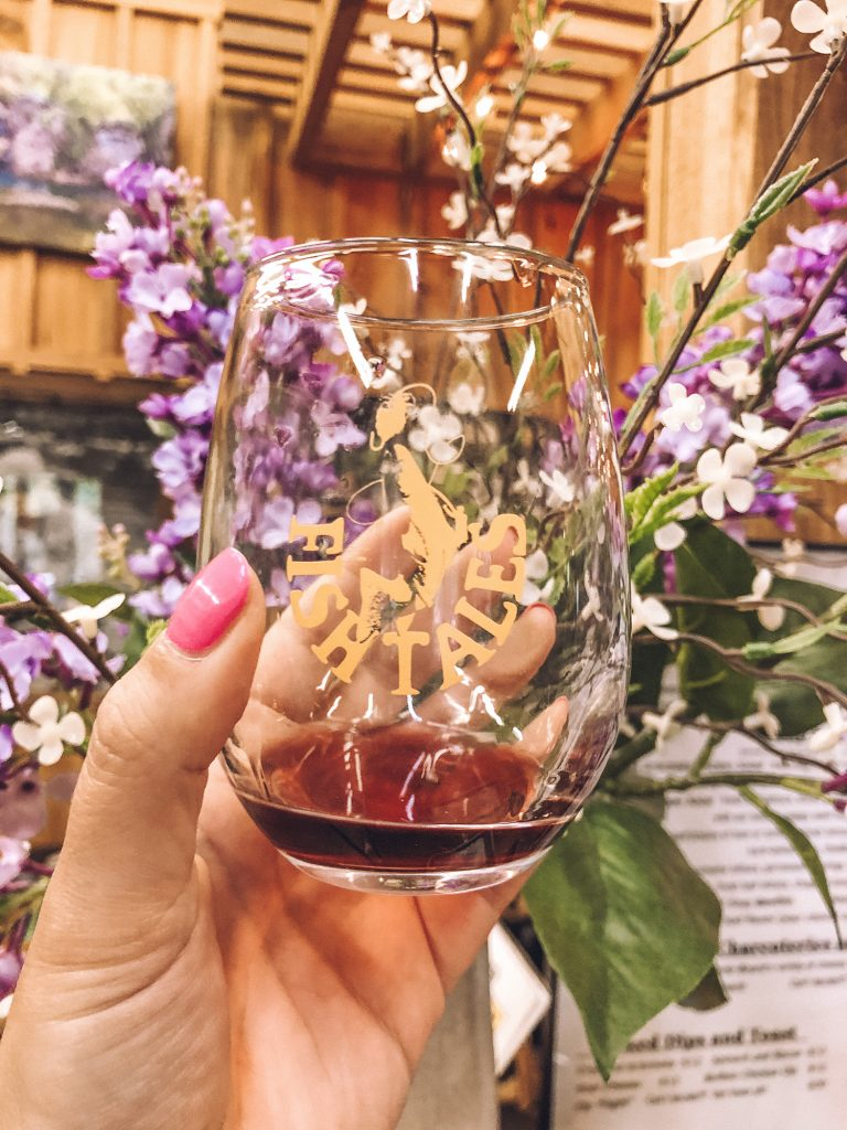 Wine tasting at Fish Tales Winery in Broken Bow, Oklahoma