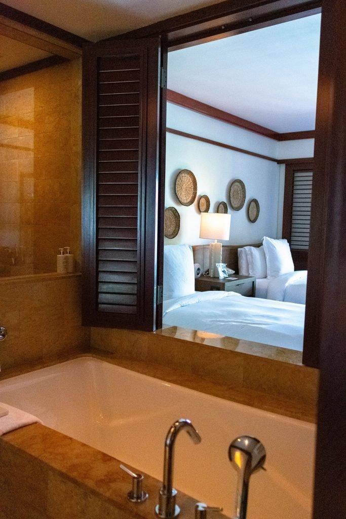 The beautiful hotel room at Four Seasons Peninsula Papagayo