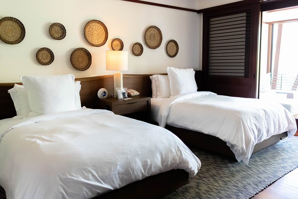 An exclusive hotel room at Four Seasons Resort Costa Rica at Peninsula Papagayo