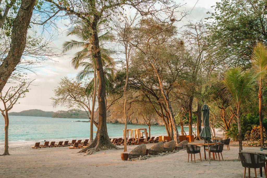 Playa Virador at the exclusive Four Seasons Resort Costa Rica at Peninsula Papagayo