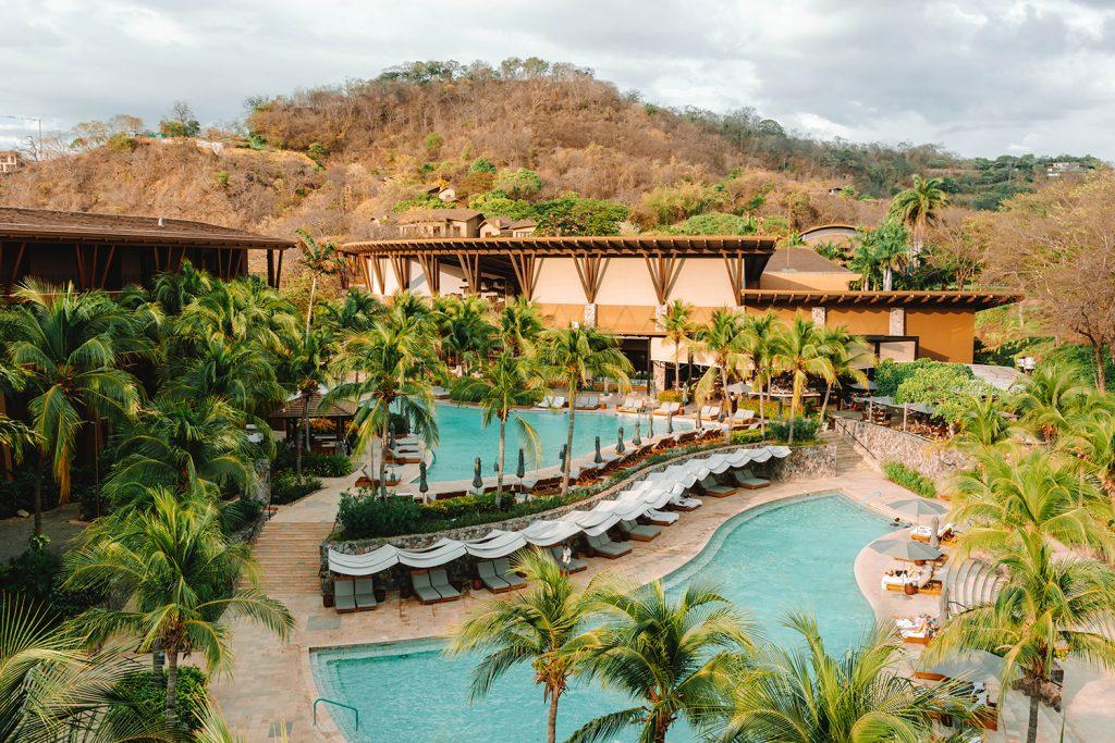 The exclusive Four Seasons Resort property at Peninsula Papagayo