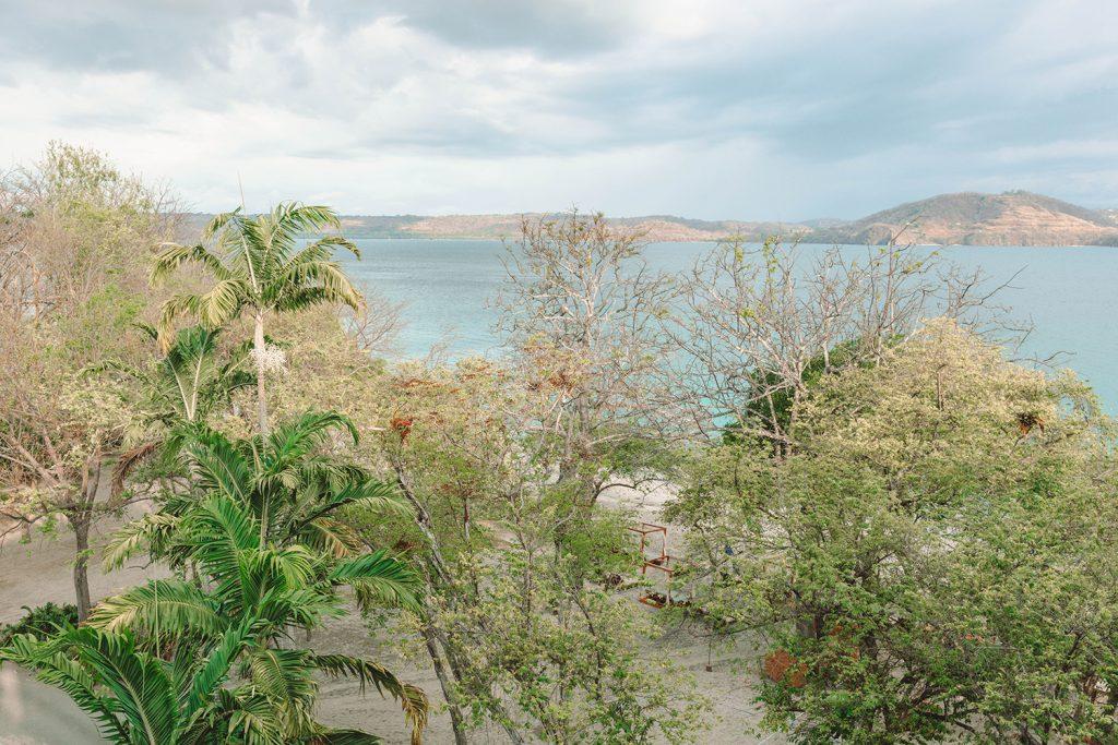 The Four Seasons bay beach at Peninsula Papagayo