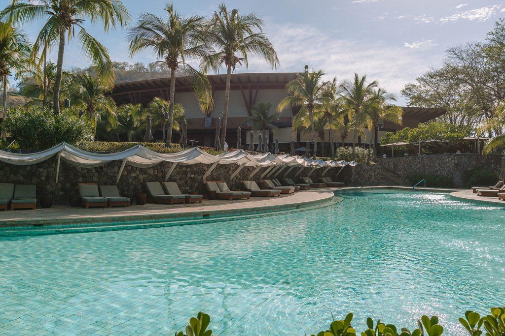 Four Seasons Resort Costa Rica at Peninsula Papagayo - the exclusive pool area