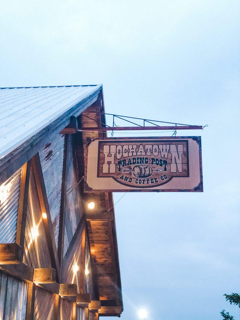 Hochatown trading post