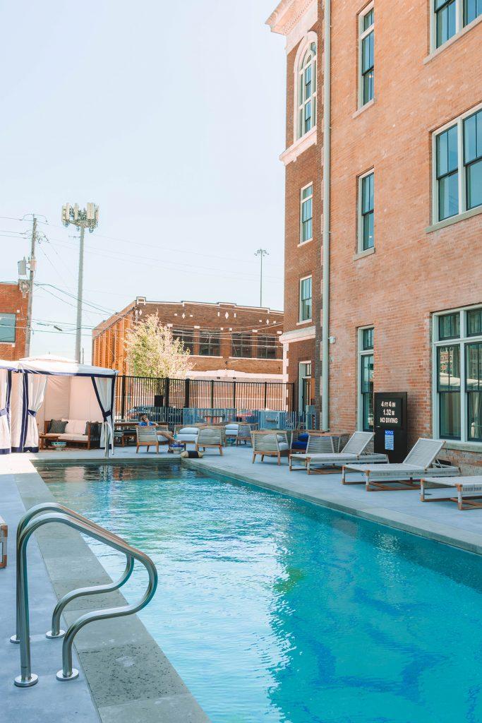 The pool at Kimpton Pittman Hotel Dallas