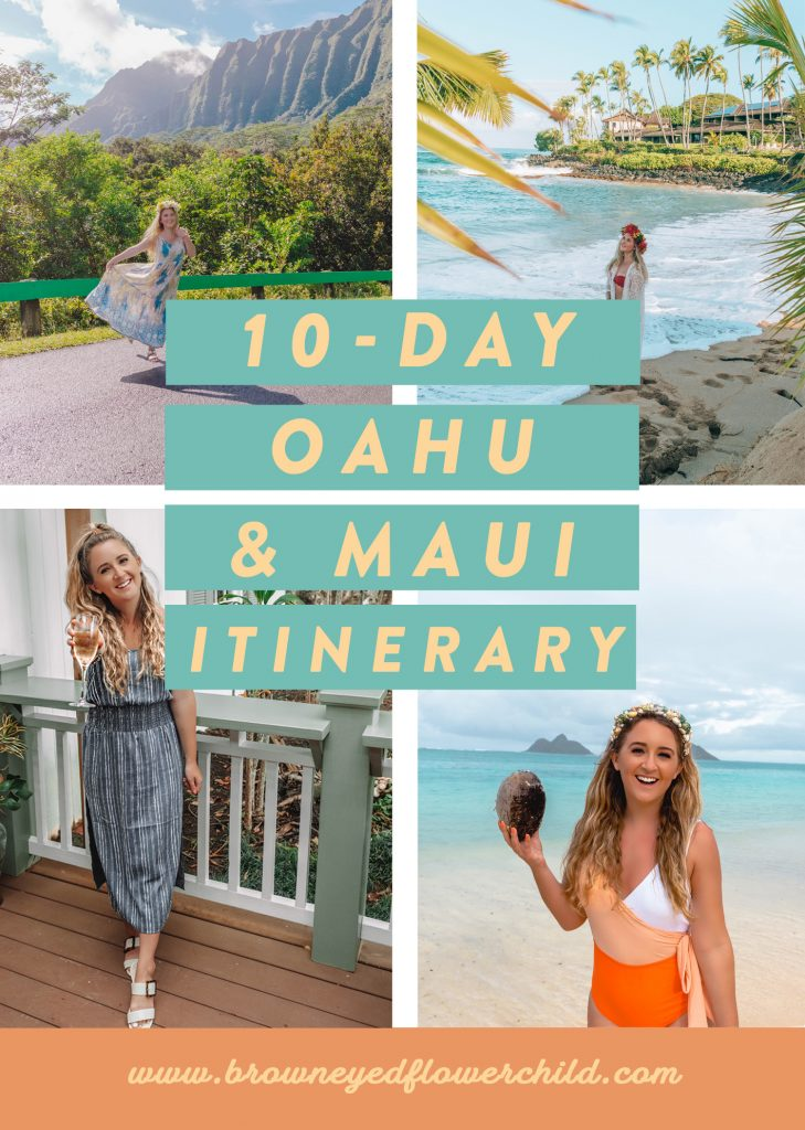 10-day Oahu and Maui Itinerary