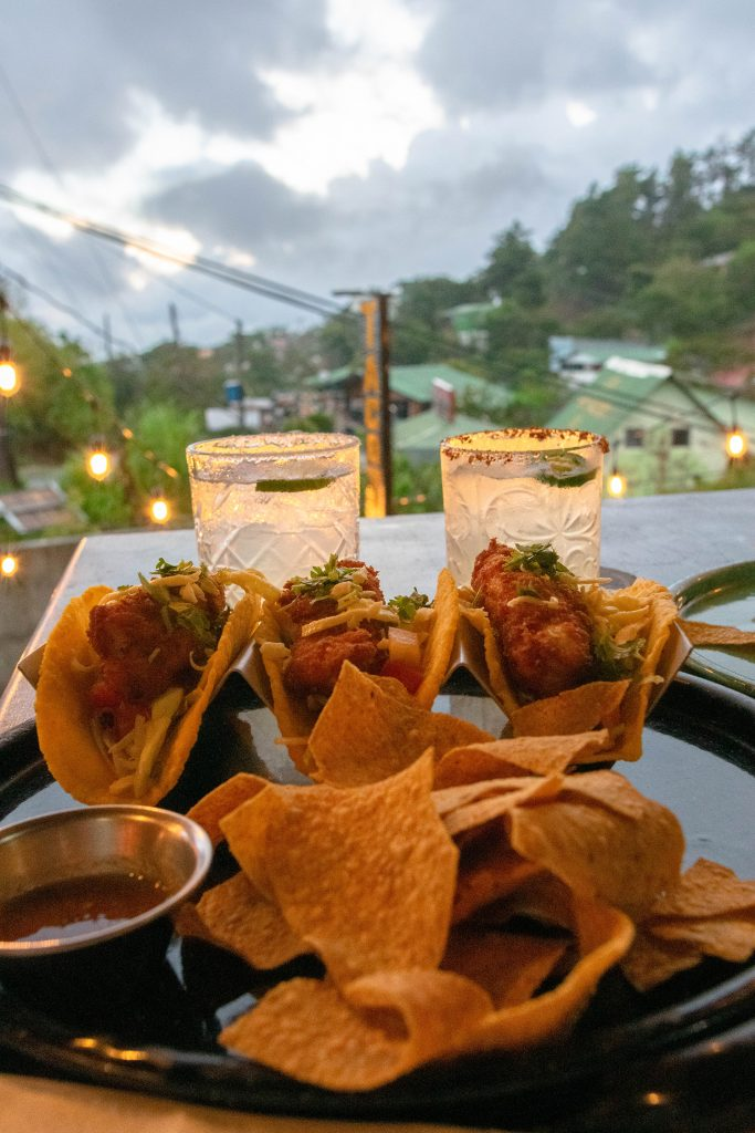 Fish tacos from Taco Taco in Monteverde