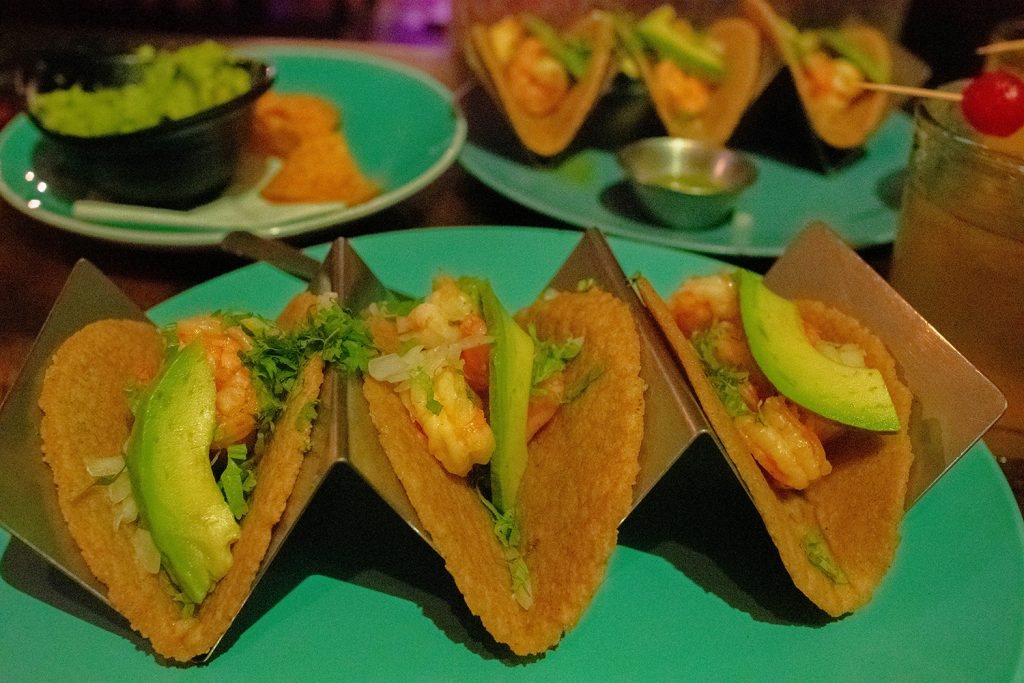 Tacos from Spectacolar Cantina in La Fortuna