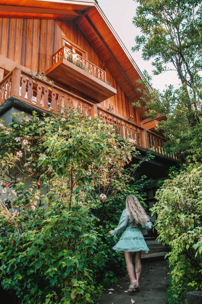 A woman staying at Hotel Belmar during 2 days in Monteverde, Costa Rica