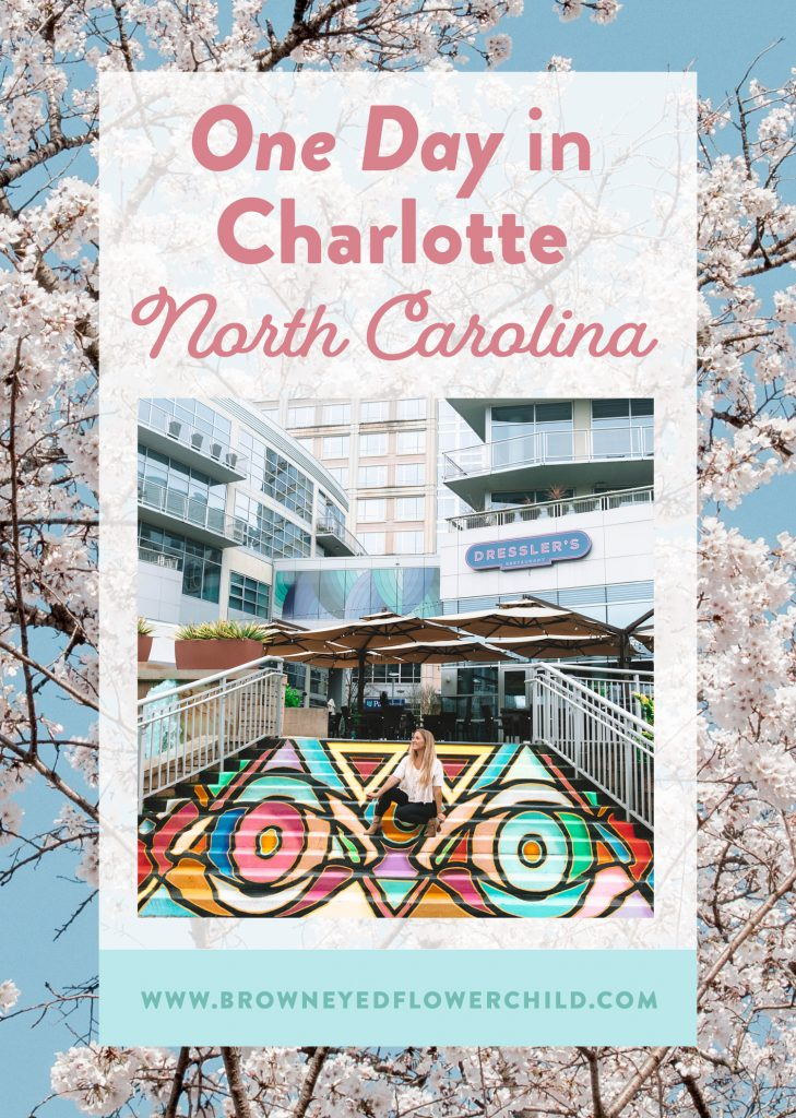 One day in Charlotte, North Carolina