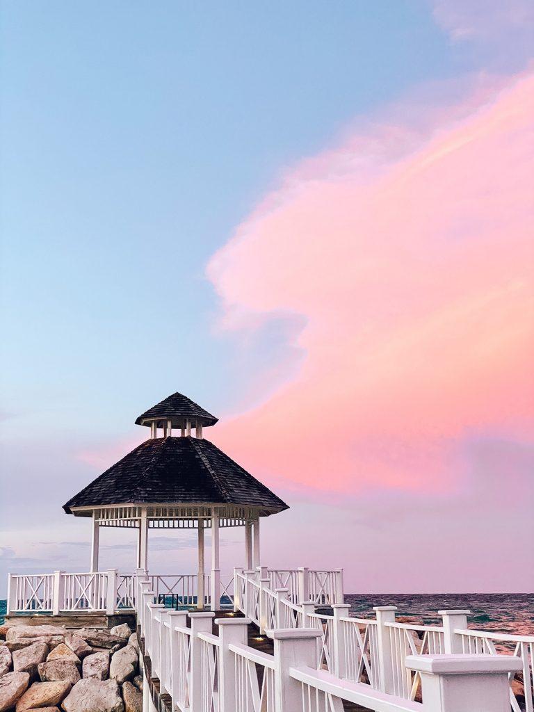 Sunset in Montego Bay, Jamaica