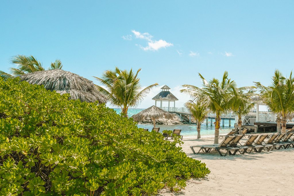 A memorable experience at the beach at Hyatt Ziva Rose Hall All Inclusive, Jamaica
