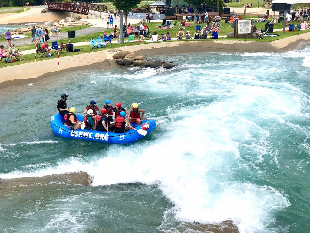 Adventuring at the US National Whitewater Center