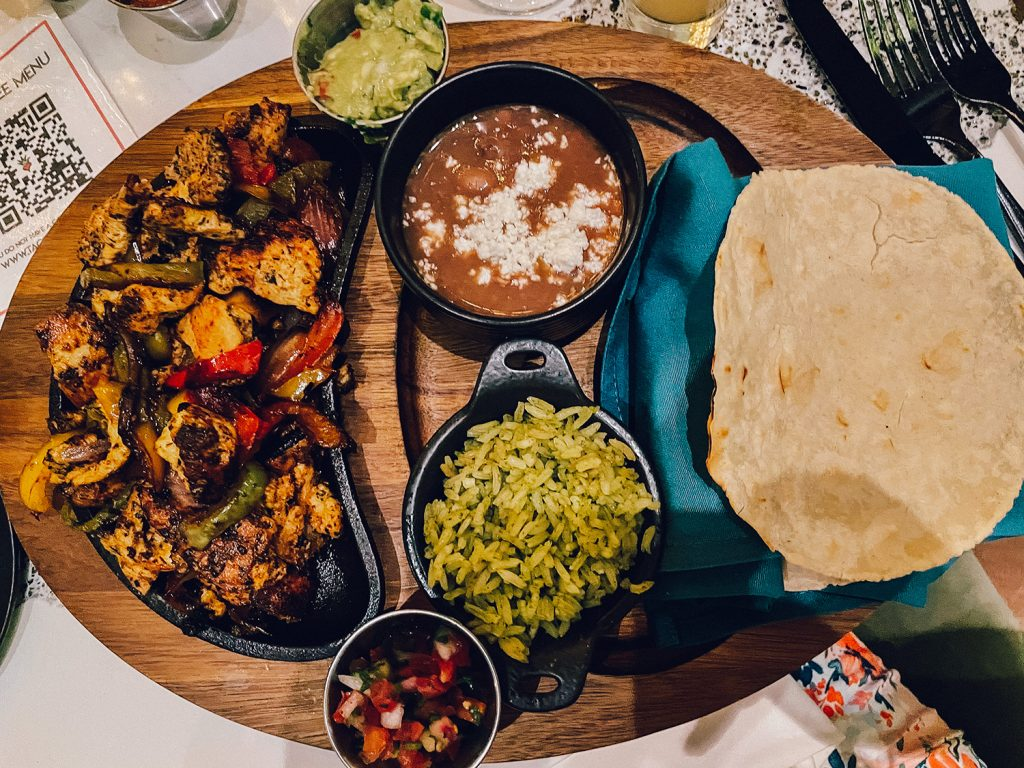 A Mexican dinner at Tac/Quila in Palm Springs