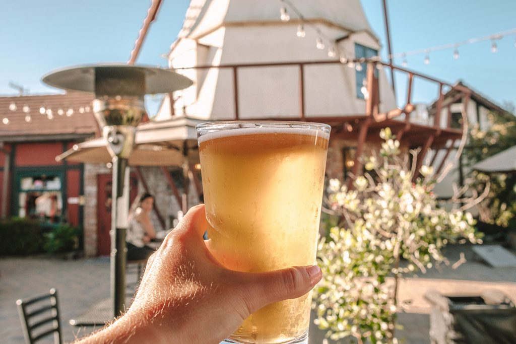 Craft beer from Solvang Brewery