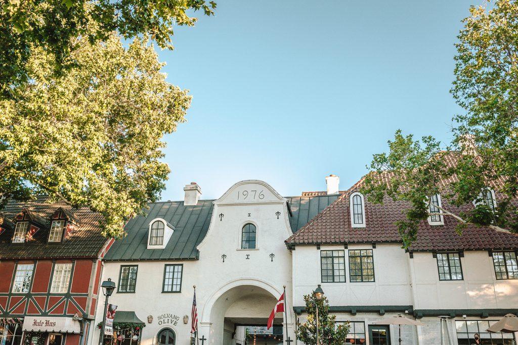 The charming Danish village of Solvang, California