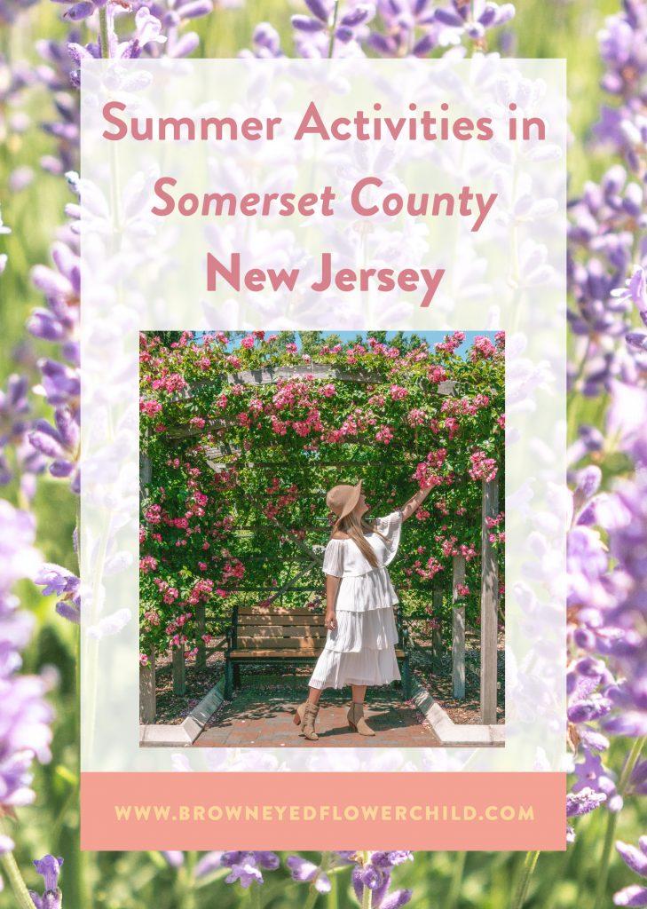 Summer Activities in Somerset County New Jersey