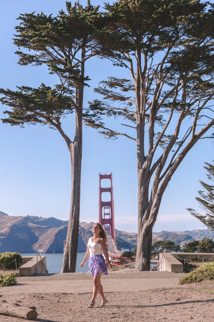 What to do during your first time in San Francisco - see the Golden Gate Bridge